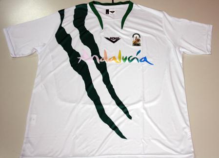 0c55e9940197c La Real Federación Andaluza de Fútbol pone a disposición de los interesados  una liquidación de  stocks  de camisetas oficiales de la Selección Andaluza  de ...